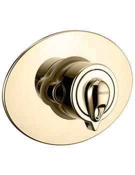 Bristan Oval Concealing Plate Universal Kit Gold - KIT UNI OVL1 G
