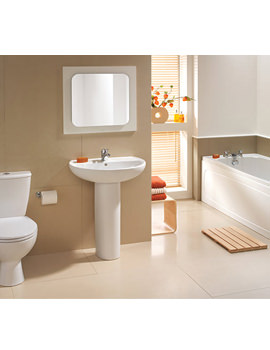 Alcona White Bathroom Suite