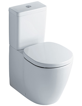 Concept Close Coupled Back-To-Wall WC Suite 665mm
