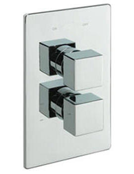 Geysir Concealed Valve With Slide Rail Kit And Wall Outlet