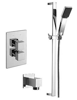Related Tre Mercati Edge Concealed Shower Valve With Kit And Wall Outlet