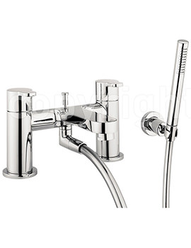 Related Crosswater Central Bath Shower Mixer Tap with Kit - CE422DC