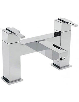 Vespa Pillar Mounted Bath Filler Tap Chrome - 45040