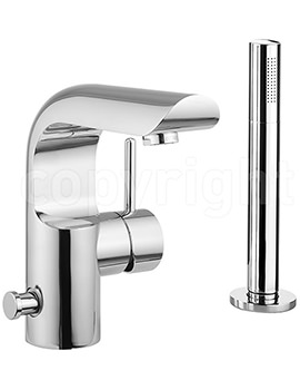Elite Monobloc Bath Shower Mixer Tap With Kit- EL410DC