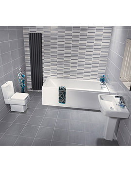 Nuie Premier Bliss Jewel Bathroom Suite - Image