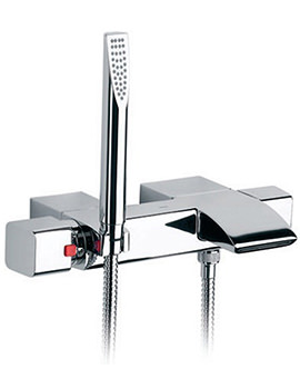 Roca Thesis Thermostatic Bath Shower Mixer Tap With Kit - 5A1150C00