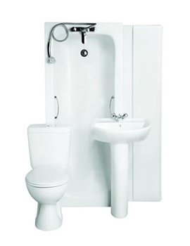 Armitage Shanks Sandringham 21 1TH White Bathroom To Go Pack