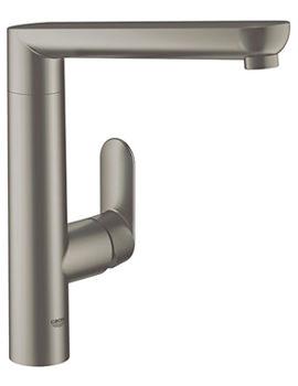 Grohe K7 Supersteel Monobloc Kitchen Sink Mixer Tap - 32175DC0