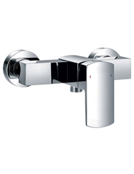 Dekka Exposed Wall Mounted Manual Bar Shower Valve