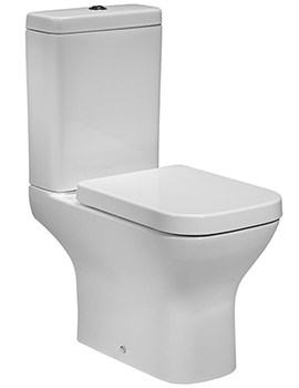 Structure Close Coupled 640mm WC With Cistern And Toilet Seat