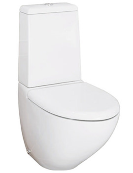 Related RAK Reserva Dual Flush Close Coupled WC With Soft Close Seat 640mm