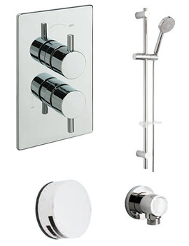 Poppy Concealed Valve With 2 Way Diverter And Shower Set