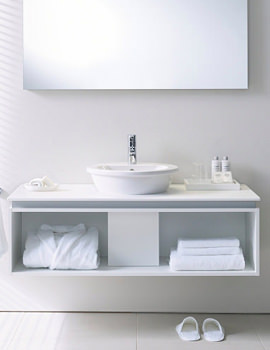 Related Duravit Darling New Basin 470mm On Furniture 1000mm - 049747 - DN 6450
