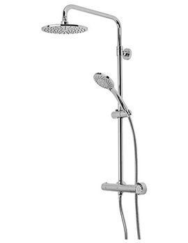 Event Round Dual Function Diverter Shower System - SVSET30