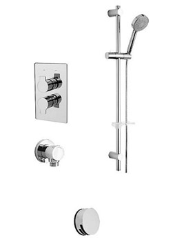 Ora Concealed Valve With 2 Way Diverter And Slide Rail Kit