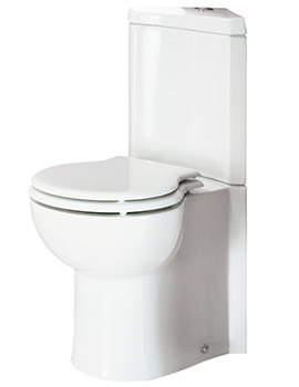 Evolution Close Coupled Corner WC With Soft-Close Seat 673mm