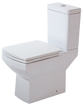 Nanno WC With Cistern And Luxury Soft Close Seat 620mm