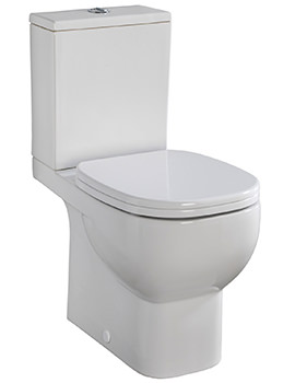 Related Twyford Quinta Close Coupled WC With Cistern And Fittings 660mm