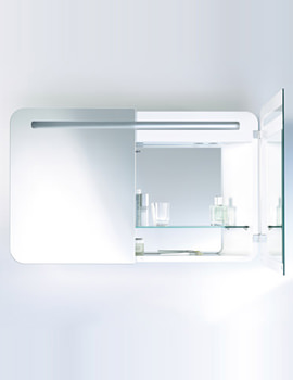 Duravit PuraVida Mirror Cabinet 188mm x 1000mm - PV942508585