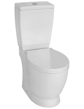 VitrA Sunrise Open Back Close Coupled WC With Cistern And Seat