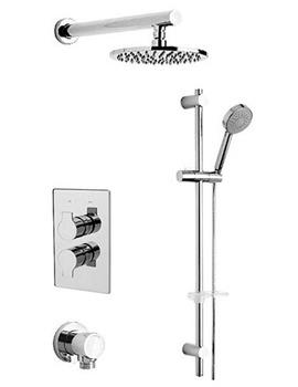 Tre Mercati Ora Concealed Valve With 2 Way Diverter With Shower Set