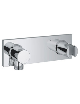 Grotherm F Wall Shower Union With Integrated Shower Holder