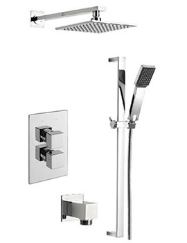 Geysir Thermostatic 2 Way Diverter Valve And Shower Set