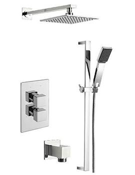 Geysir Thermostatic 2 Way Diverter Valve And Shower Set