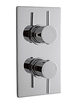 Lauren Pioneer Minimalist Lever Twin Concealed Thermostatic Shower Valve