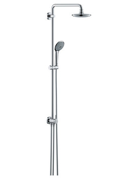Euphoria Wall Mounted Shower System With Diverter - 27421001