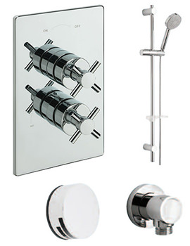 Erin Concealed 2 Way Diverter Valve And Shower Set-82092B