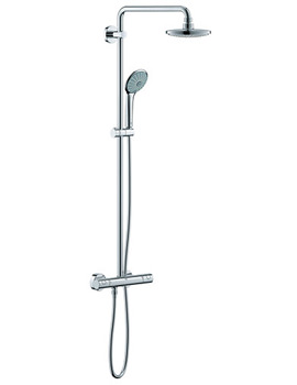 Euphoria Wall Mounted Thermostatic Shower System - 27296001