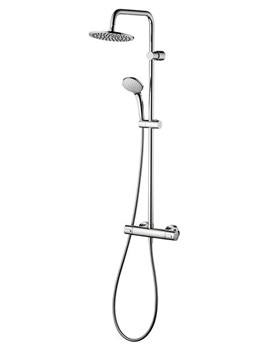 Ceratherm 100 Exposed Valve With Dual Shower Set