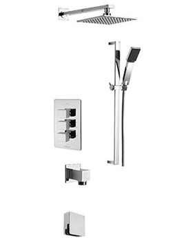 Mr Darcy Concealed 3 Way Diverter Valve And Shower Set