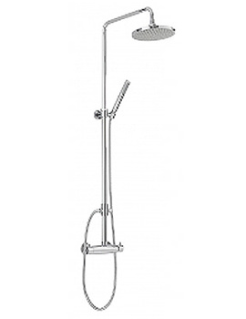 Brighton Shower Pole Complete With Valve - 82020