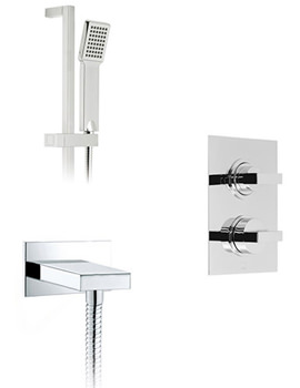 Related Vado Mix 1 Outlet Thermostatic Shower Package With Single Function Kit