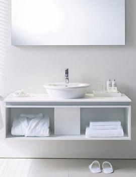 Related Duravit Darling New Basin 470mm On Furniture 1200mm - 049747 - DN 6451