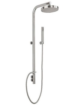 Tre Mercati Vertica Exposed Thermostatic Valve With Riser And Rose
