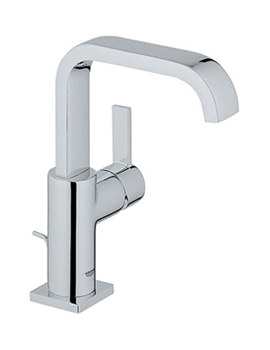 Allure Basin Mixer Tap With Pop-up Waste - 32146000