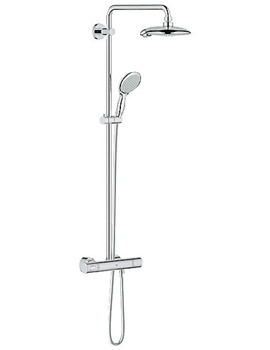 Power And Soul Exposed Thermostatic Shower Set