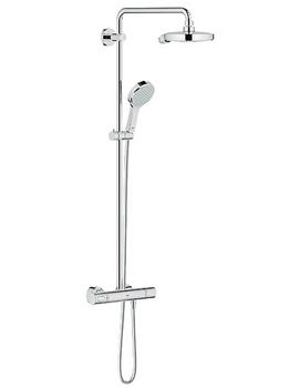 Power And Soul Thermostatic Shower Set