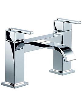 Mayfair Ice Fall Lever Head Bath Filler Tap Chrome - IFL005