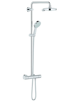 Grohe Spa Exposed Thermostatic Shower Set With 450mm Arm And Shower Head