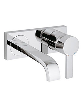 Allure Wall Mounted Basin Mixer Tap - 19309000