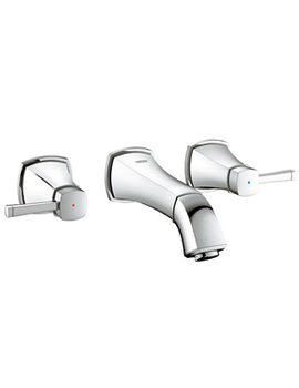 Related Grohe Spa Grandera 1-2 Inch 3 Hole Basin Mixer Tap Chrome - 20415000