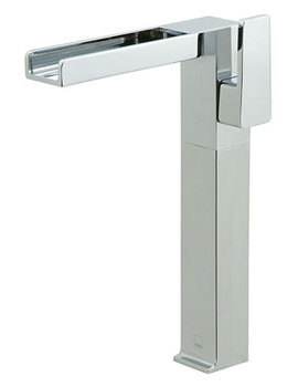 Synergie Extended Deck Mounted Mono Basin Mixer Tap