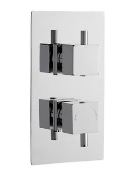 Pioneer Square Twin Concealed Thermostatic Shower Valve-JTY398
