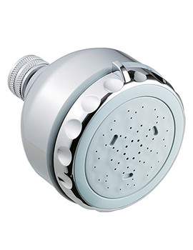 Triton 3 Position Fixed Shower Head - TSFH3