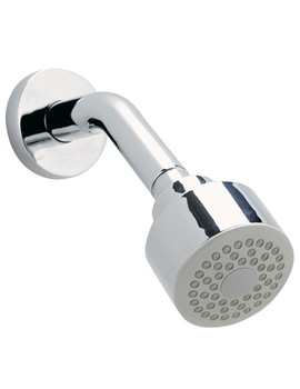 Modern Fixed Head With Arm And Swivel Elbow 70mm