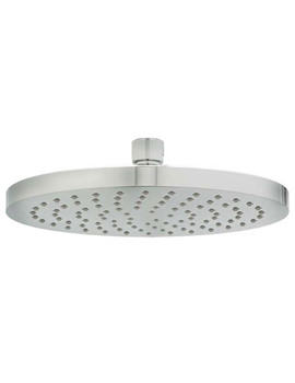 Krome Fixed Shower Head 200mm With Swivel Joint - HEAH06